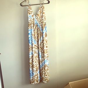 Ankle length beautiful maxi dress NEVER WORN